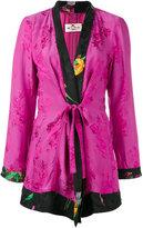 Etro jacquard kimono jacket