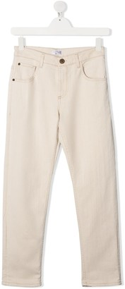 BRUNELLO CUCINELLI KIDS TEEN straight leg jeans