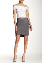 Wow Couture Chevron Bandage Skirt