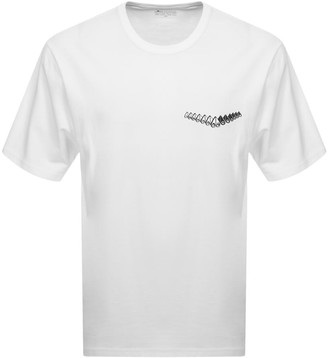 Moose Knuckles Loose Fit Ramsay T Shirt White