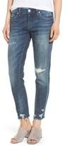 Blank NYC Women's Blanknyc Ripped Girlfriend Jeans