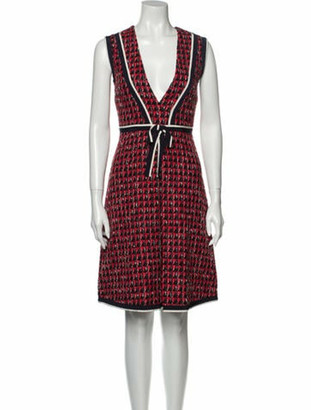 Gucci 2019 Knee-Length Dress w/ Tags Red