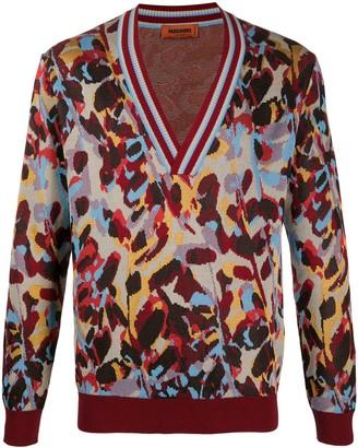 Missoni V-neck jumper