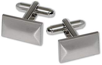 Black Brown 1826 Bevelled Rectangle Cufflinks