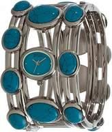 Badgley Mischka BA/1125TQSV Turquoise Women's Watch