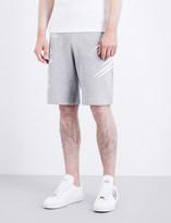 PLEIN SPORT Claw-print cotton-jersey shorts