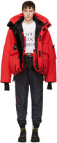 Vetements Red Canada Goose Edition Down Parka