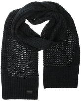 Firetrap Blackseal Two Cable Knit Scarf