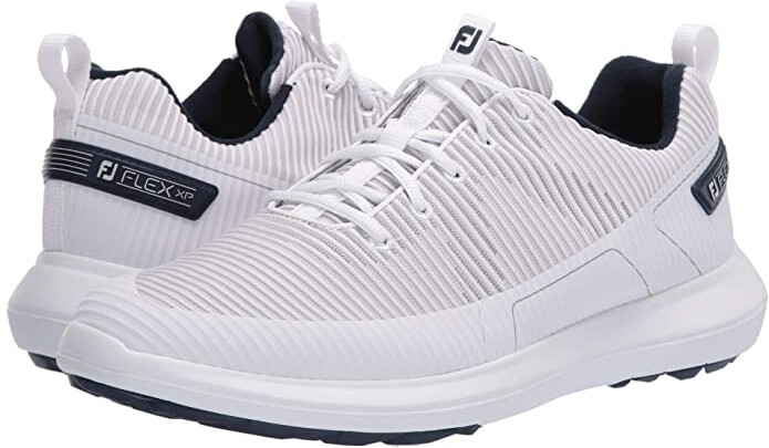 Foot Joy Footjoy Flex Xp White Men S Golf Shoes Shopstyle