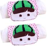 Panda Superstore 2 Lovely Watermelon Cotton Gauze Towel Wipe Sweat Absorbent Cloth Mat Towels
