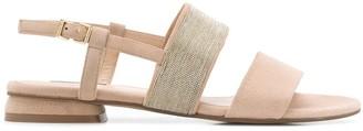 Steffen Schraut Embellished Low Heel Sandals