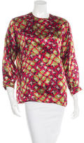 Christian Lacroix Printed Long Sleeve Top