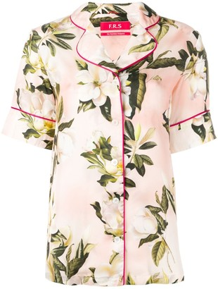 F.R.S For Restless Sleepers Floral Shirt