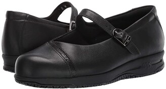 SAS Clare Non-Slip (Black/Black Web) Women's Shoes