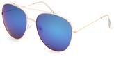 Full Tilt Rounded Aviator Sunglasses