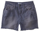 Aeropostale Womens Tokyo Darling Super High-Waisted Color Wash Shorty Shorts