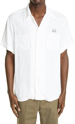 Visvim Irving Logo Button-Up Shirt
