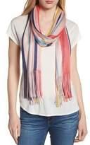Echo Cabana Stripe Silk Scarf