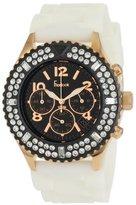 Freelook Women's HA9083CHB-RG9 Aquamarina Royale Silicon Watch