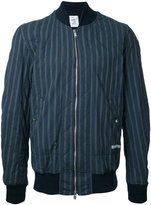 Undercover striped bomber jacket - men - Cotton/Polyurethane - 3
