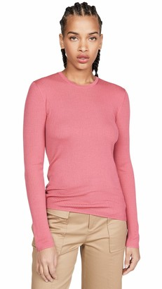 Theory Women's MIRZI Long Sleeve Ribbed Pullover