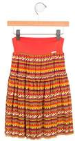 Junior Gaultier Girls' Selena Printed Skirt w/ Tags