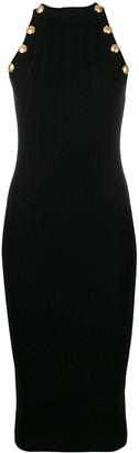 Balmain Midi Knit Dress