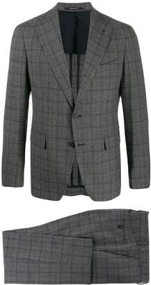 Tagliatore two-piece check formal suit