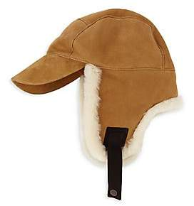 cde53880ced9c4 UGG Men's Shearling-Trim Baseball Trapper Hat