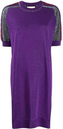 Gucci metallic thread jumper dress