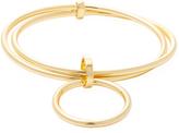 Trina Turk Double Ring Bangle Bracelet