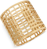 INC International Concepts M. Haskell for INC Gold-Tone Open Cage Hinged Bracelet, Only at Macy's