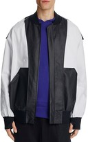 Y-3 Reversible Laminated Cotton Bomber Jacket