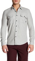 Quiksilver Collared Long Sleeve Slim Fit Shirt