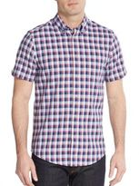 Ben Sherman Slim-Fit Plaid Oxford Sportshirt