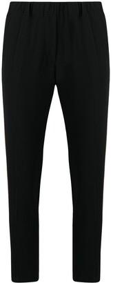 Blanca Vita Side-Strip Slim Trousers