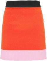Fausto Puglisi colour block skirt - women - Silk/Acetate/Viscose - 38