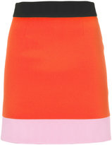 Fausto Puglisi colour block skirt - women - Silk/Acetate/Viscose - 42