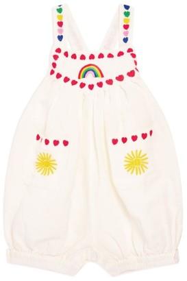 Stella McCartney Rainbow Hearts Bodysuit
