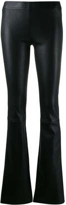 Drome Textured Flared Trousers