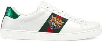Gucci Ace embroidered tiger sneakers