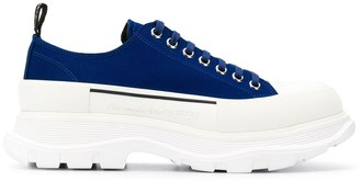 Alexander McQueen chunky low-top sneakers
