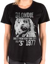 Goodie Two Sleeves Black Blondie 1977 Direct Tee - Women