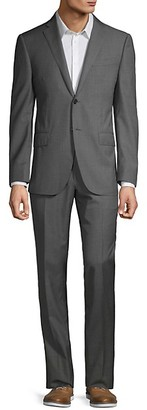 Corneliani Classic-Fit Textured Wool Suit
