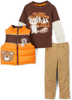 Brown 'The Great Outdoors' Tee Set - Infant