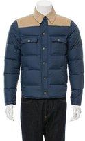Gant Corduroy-Trimmed Puffer Jacket
