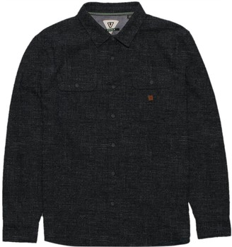 VISSLA Isolation Long-Sleeve Flannel Shirt - Men's