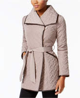 Cole Haan Asymmetrical Quilted Coat