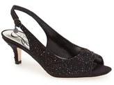J. Renee 'Impuls' Crystal Embellished Slingback Pump