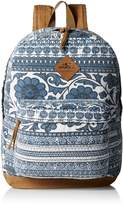 O'Neill Women's Juniors Shoreline Canvas Printed Backpack